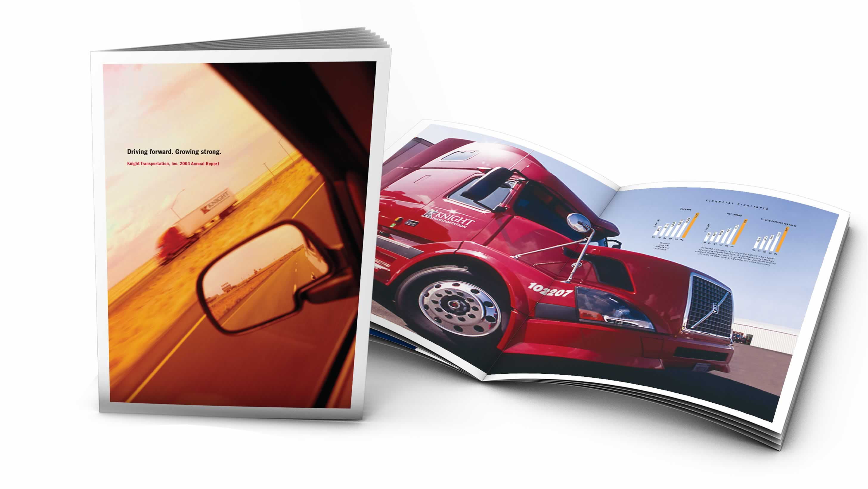 Transportation Industry Annual Report Design