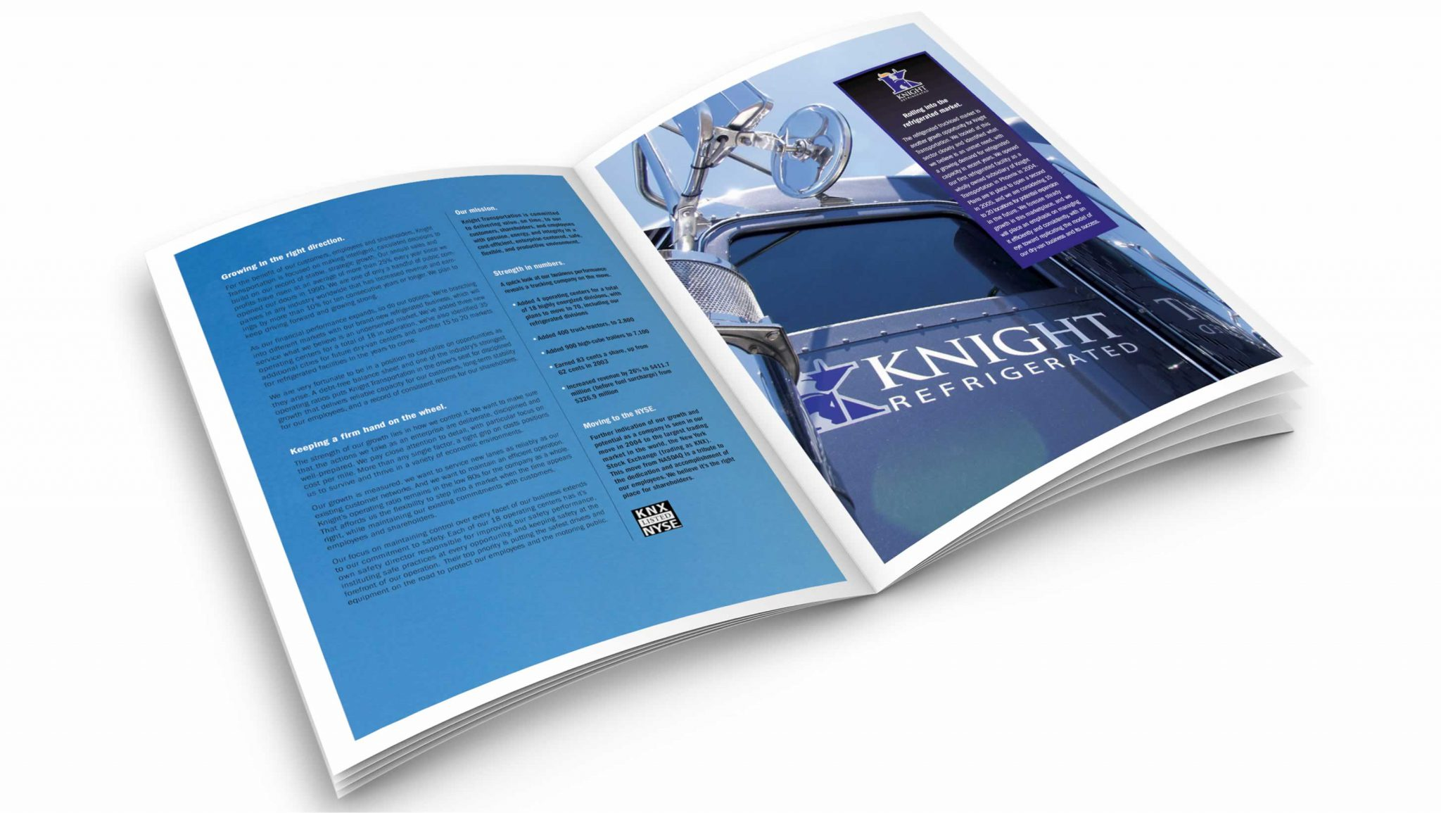 Transportation Industry Annual Report Design