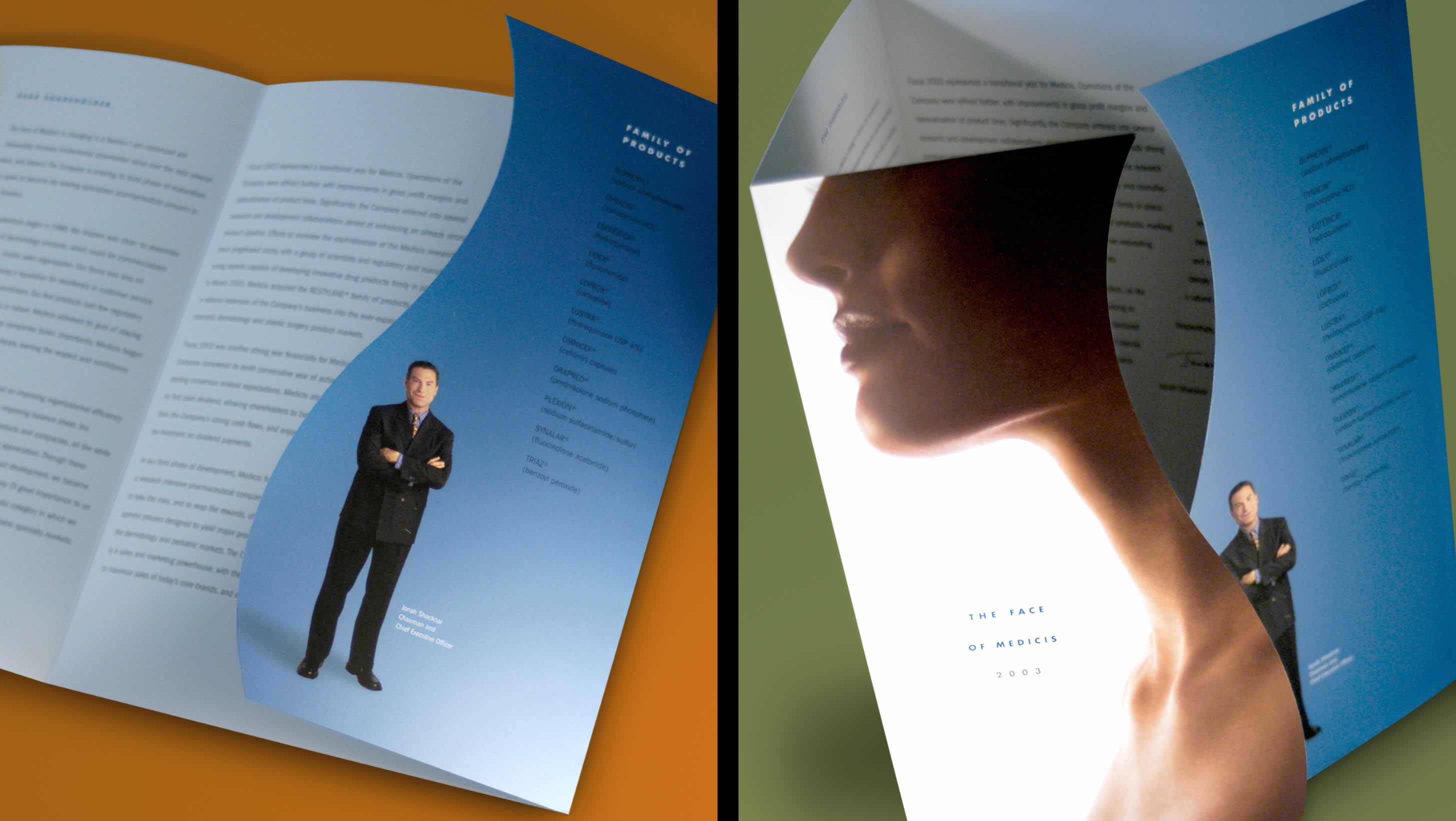 Health and Wellness Industry Annual Report Design