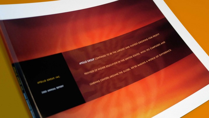 Education Industry Annual Report Design