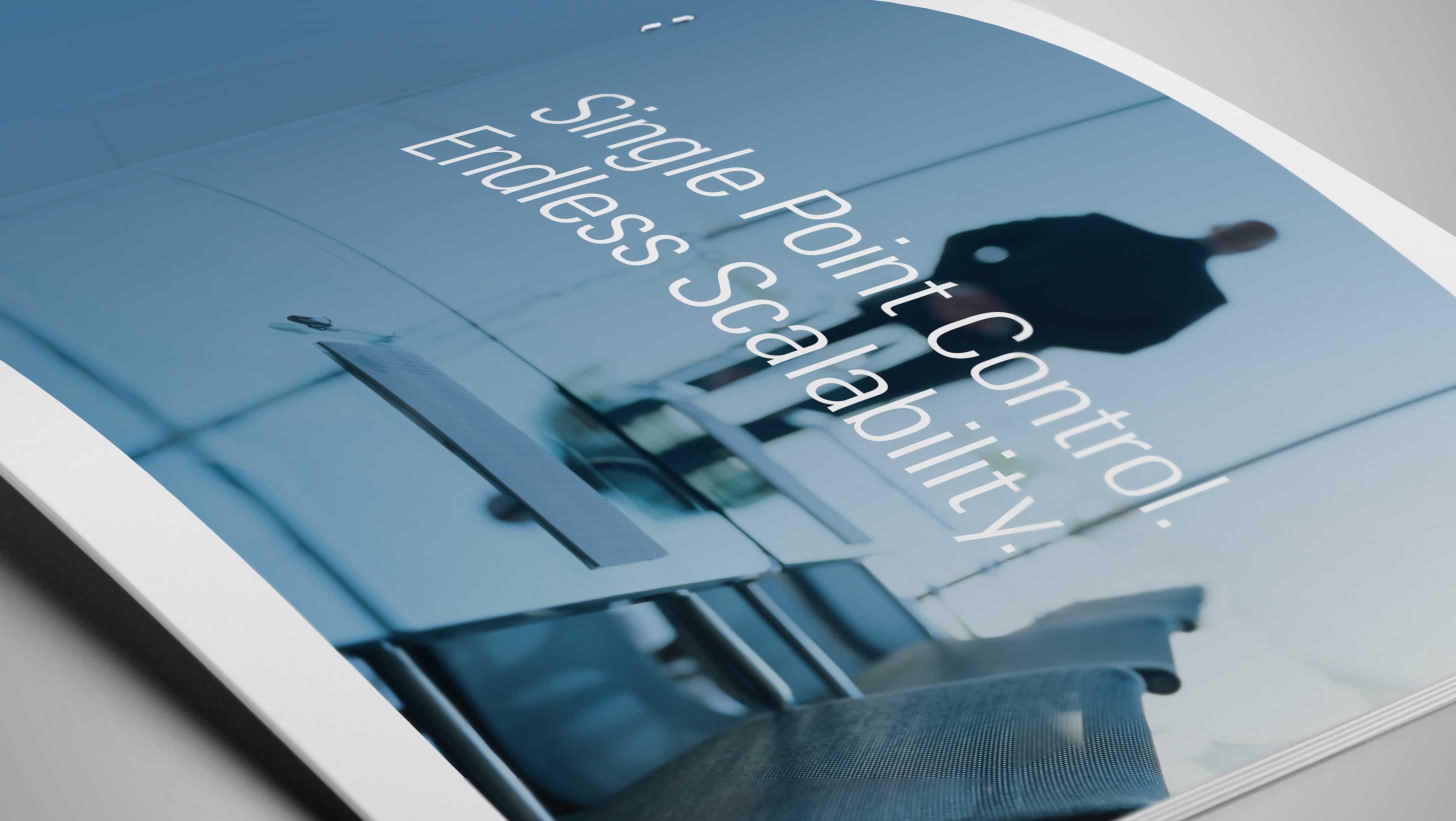 Technology Branding and Design: Ipro brochure design