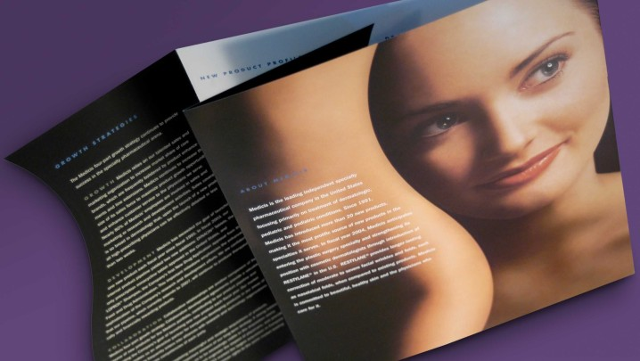 Skincare Industry Annual Report Design