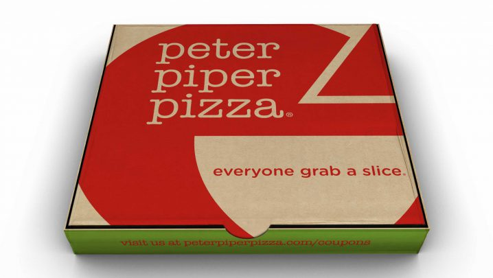 6d184d8397c The new logo was dissected and applied to ensure the quick recognition of the  Peter Piper Pizza ...