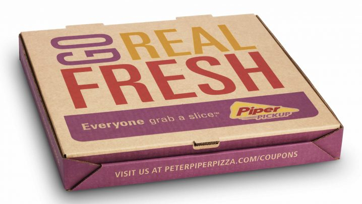 4e58b663042 The new logo was dissected and applied to ensure the quick recognition of the  Peter Piper Pizza name while still leveraging the new logo elements.