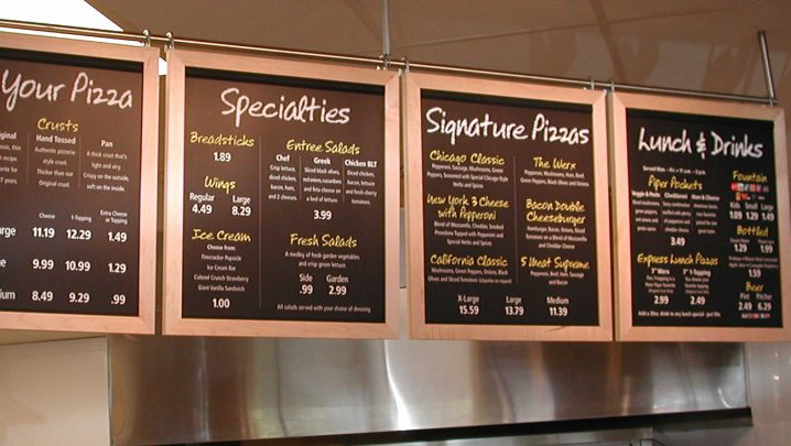 e19c3642906 Peter Piper Pizza's brand refresh ushered in a new era of digital menu and  promotional panels. Portions of the menu panels and promotional panels were  ...